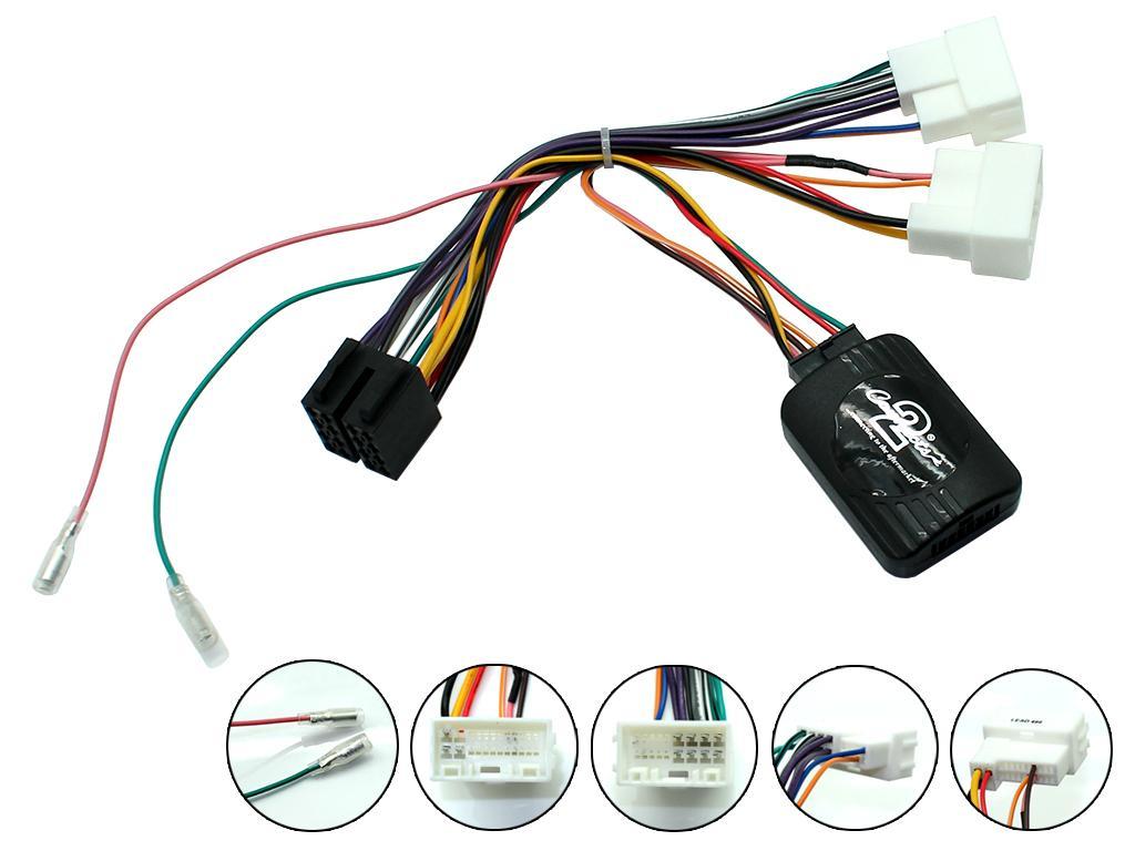 Adaptér ovládání na volantu Hyundai ix20 / ix35 / i40 / Elantra / H1
