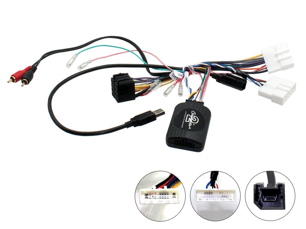 Adaptér ovládání na volantu Nissan Qashqai II. (14->)