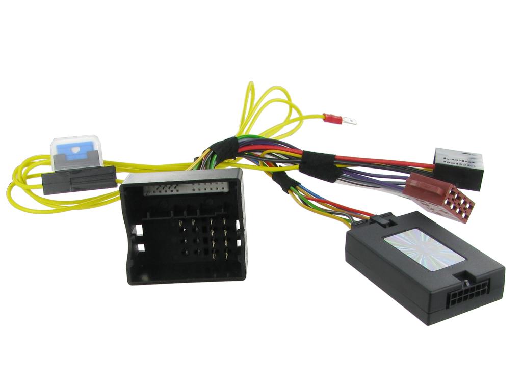 Adaptér ovládání na volantu Peugeot 206 bez OEM autorádia