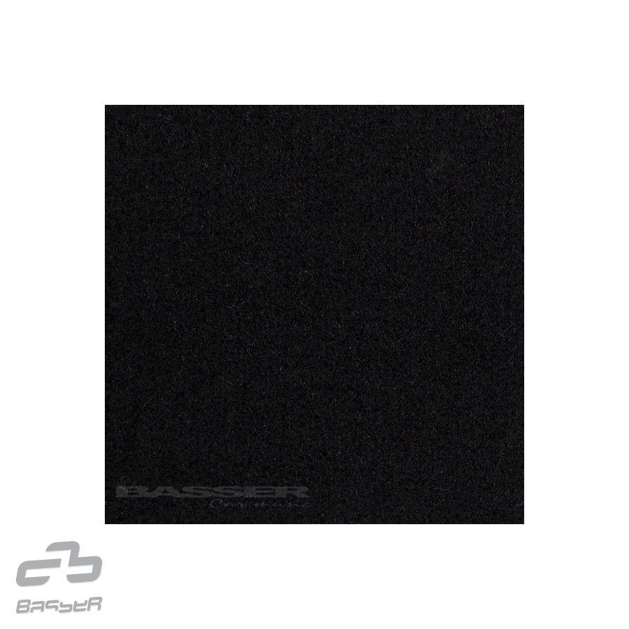Basser potahový čalounický koberec černý 150x70 cm