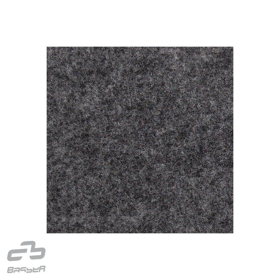 Basser potahový čalounický koberec šedý melír 150x70 cm