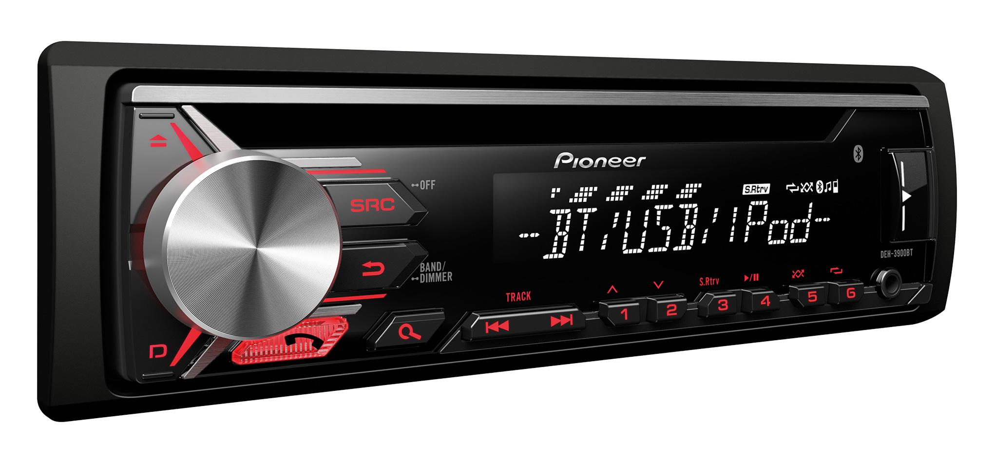 Autorádio Pioneer DEH-3900BT