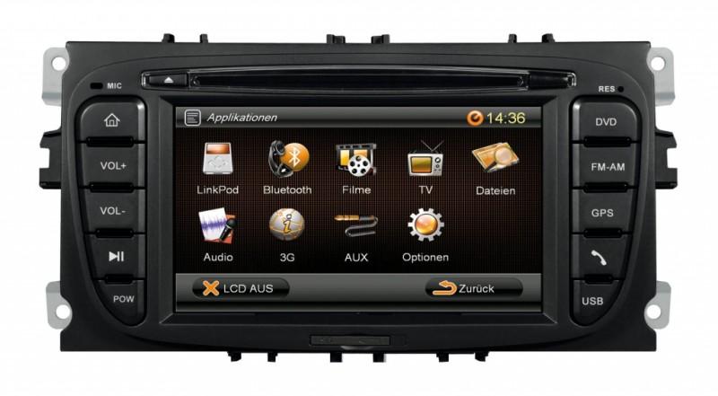 Autorádio ESX VN609 FO-U1 OEM navigace Ford Focus / Mondeo / C-MAX