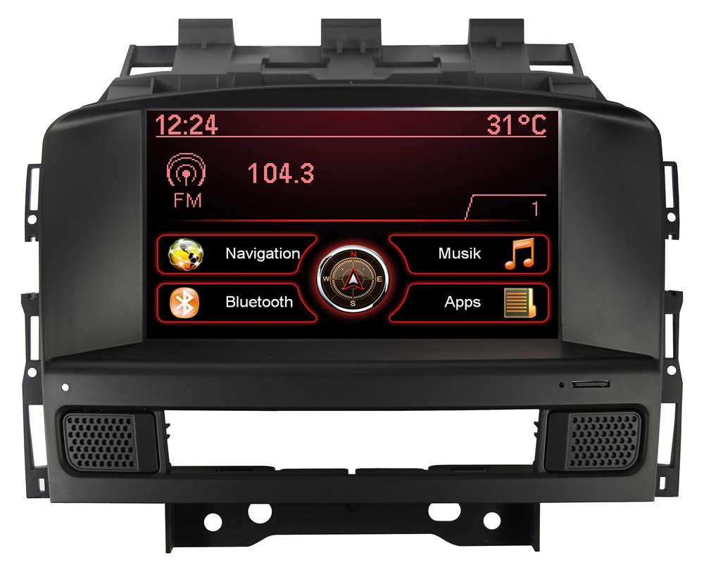 Autorádio ESX VN709 OP-ASTRA OEM navigace Opel Astra
