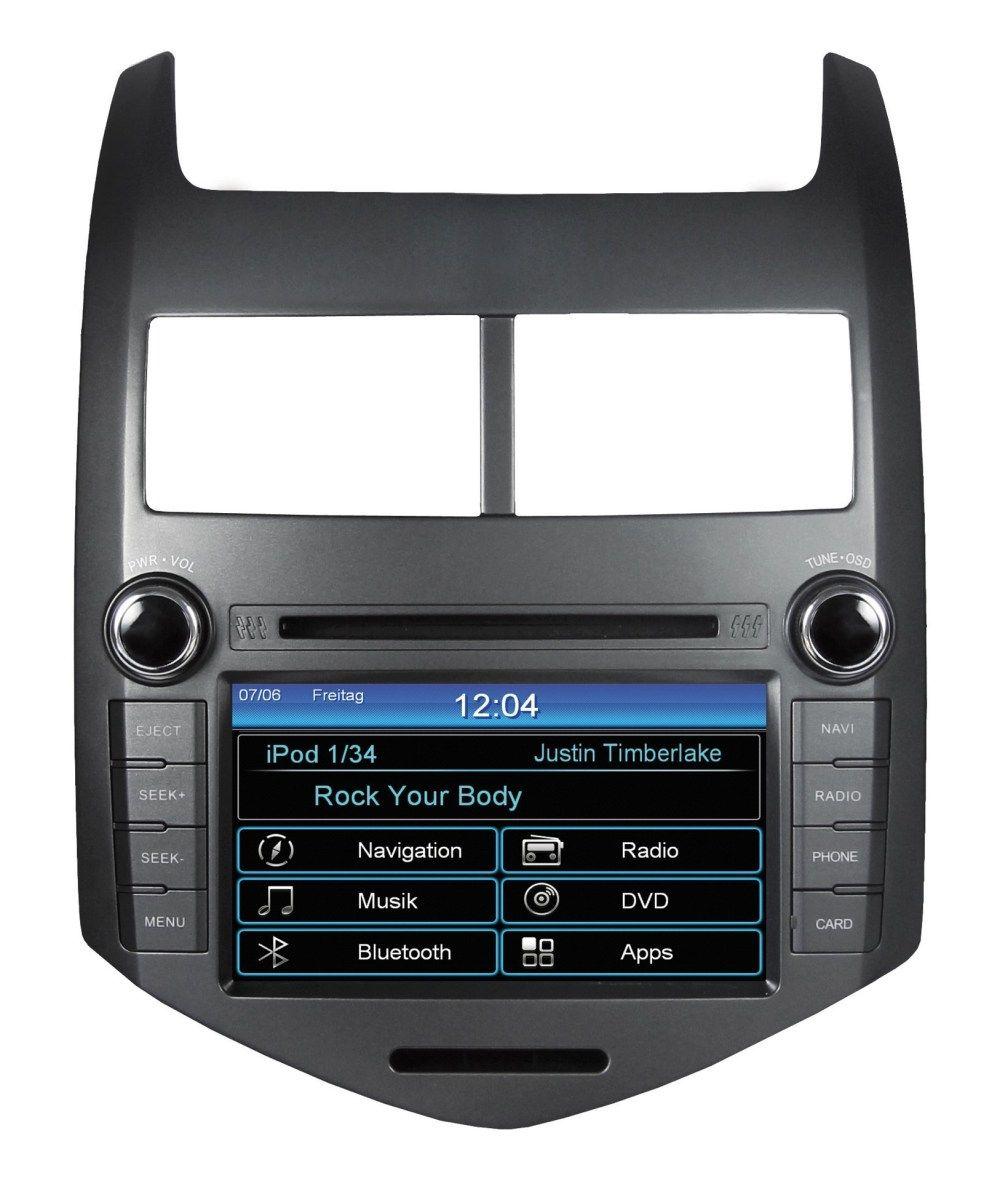 Autorádio ESX VN710 CV-AVEO OEM navigace Chevrolet Aveo