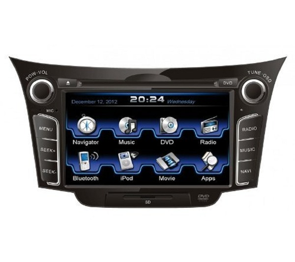 Autorádio ESX VN710 HY-i30 OEM navigace Hyundai i30