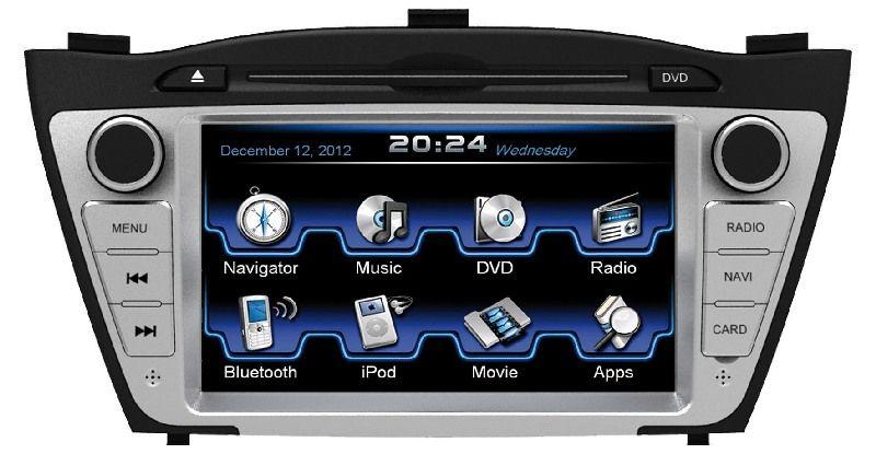 Autorádio ESX VN710 HY-ix35 OEM navigace Hyundai ix35