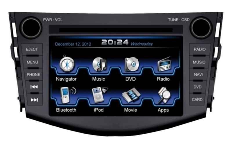 Autorádio ESX VN710 TO-RAV4 OEM navigace Toyota RAV4