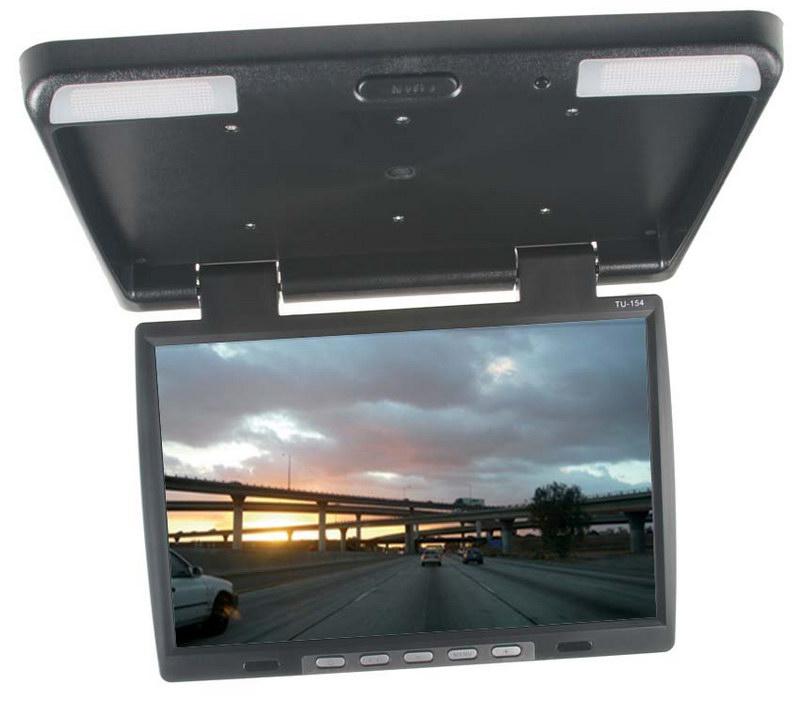"Stropní LCD monitor 15.6"" černý neotočný"