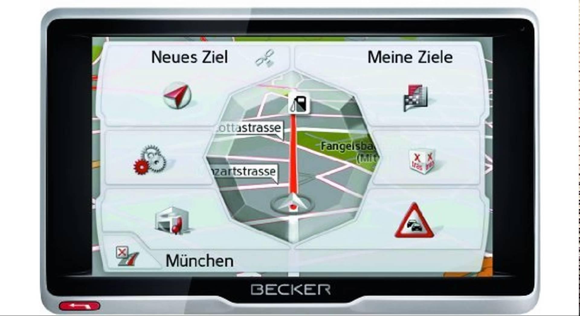 Navigace BECKER Professional.6sl EU