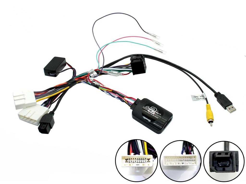 Adaptér ovládání na volantu Nissan Navara 15->