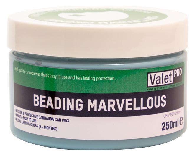 ValetPro Beading Marvellous Carnauba Wax 250ml tvrdý vosk