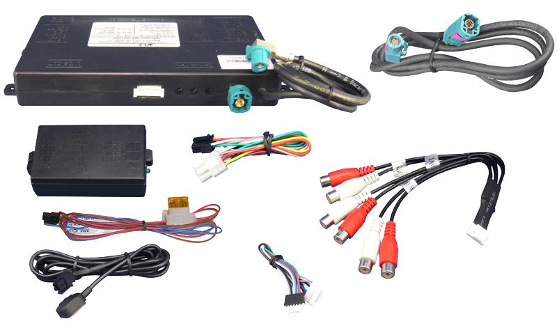 Video Adaptér + RGB Ford