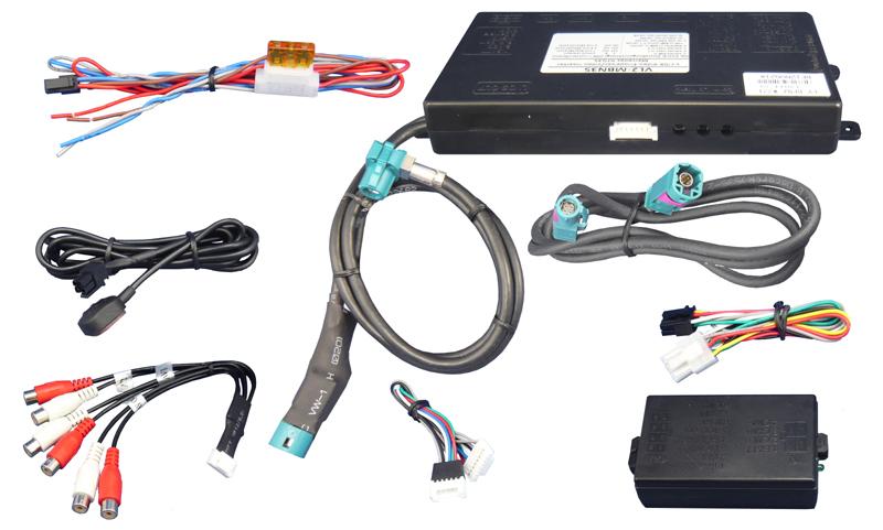 Video Adaptér + RGB Mercedes s NTG3.5