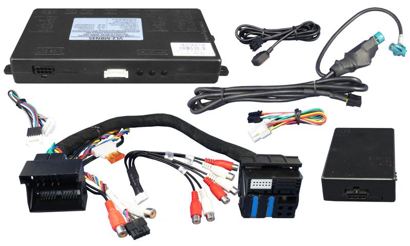 Video Adaptér + RGB Mercedes s NTG4.5