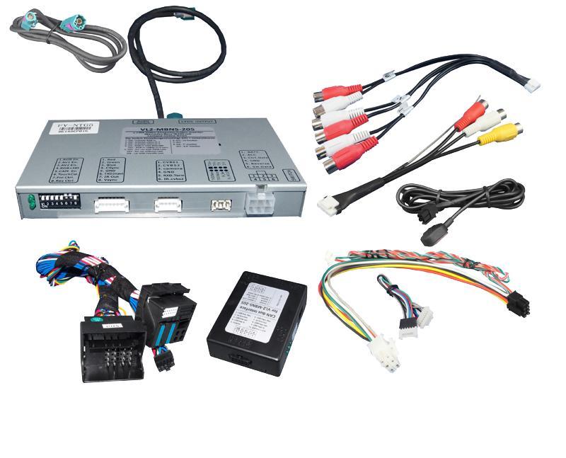 Video Adaptér + RGB Mercedes s NTG5