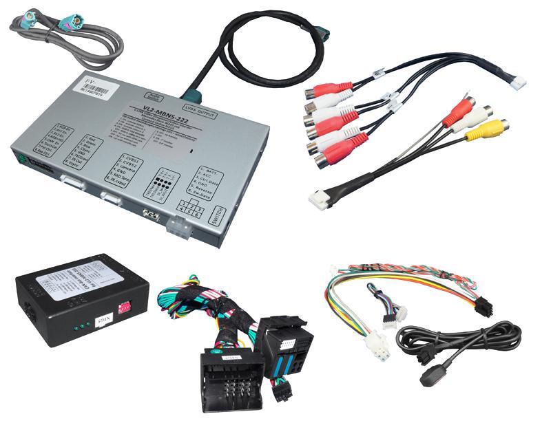 Video Adaptér + RGB Mercedes s NTG5 W222