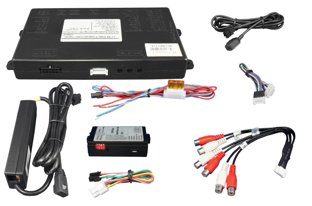 Video Adaptér + RGB Peugeot / Citroen s NG4