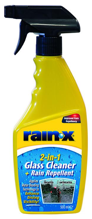 Rain-X 2-IN-1 Glass Cleaner + Rain Repellent 500 ml čistič oken a tekuté stěrače