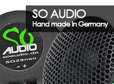 SO Audio - hand made in Germany